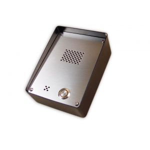 Domofon GSM wandaloodporny, stalowy dla 1 abonenta